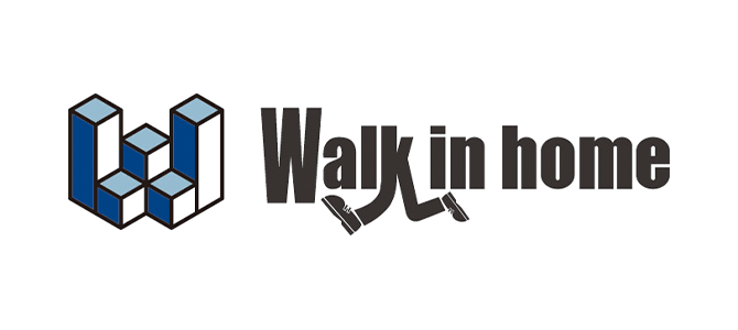 Walk in home ロゴ